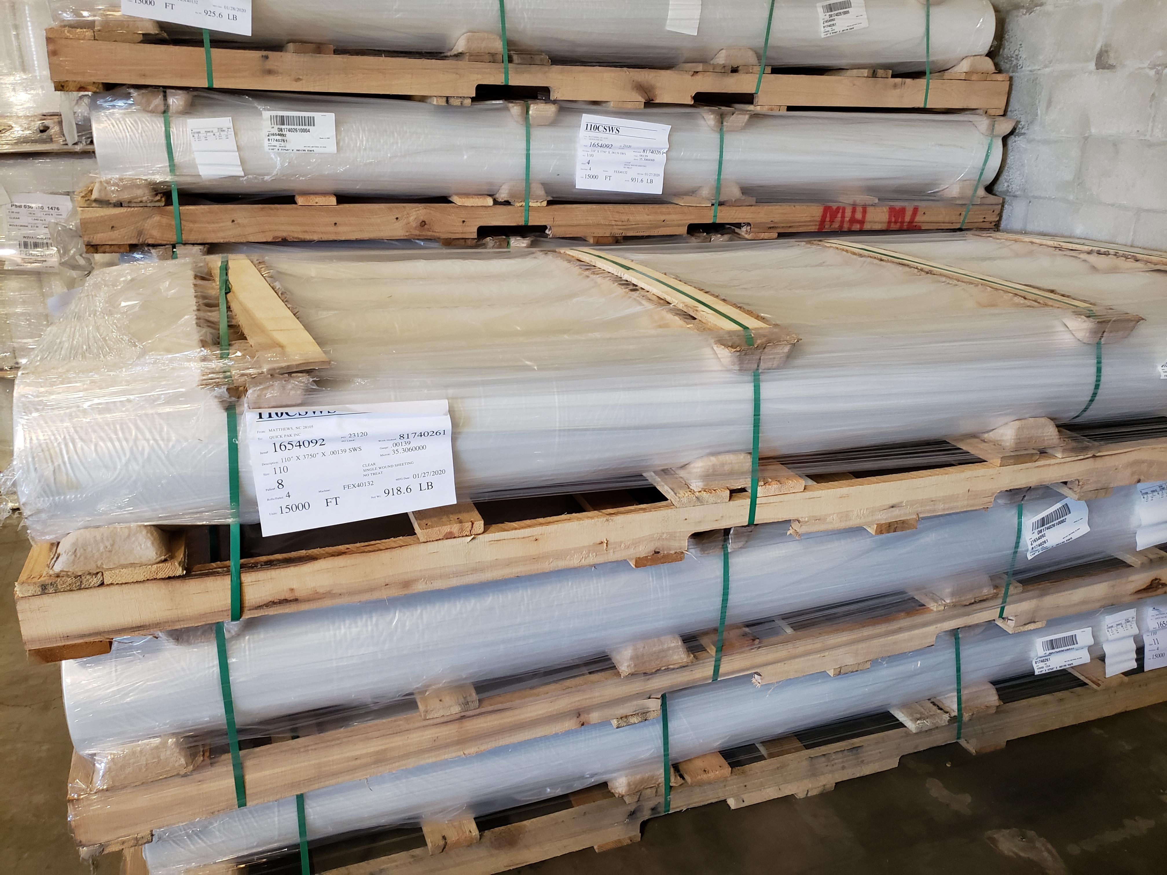 extra wide poly sheeting