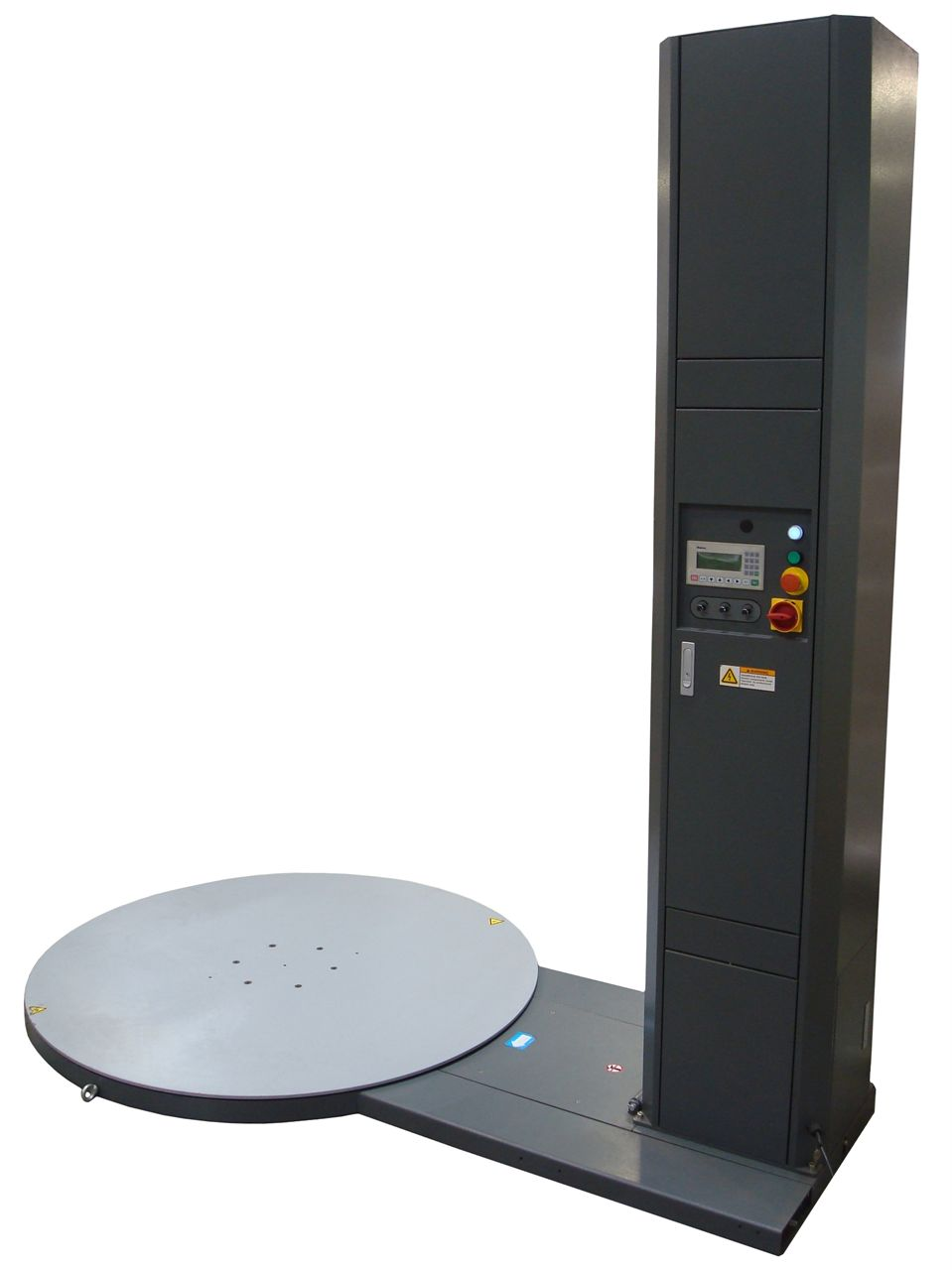 picture of the revolution st pallet stretch wrapping machine