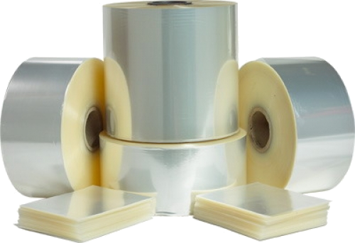 rolls of shrink films and shrink bags