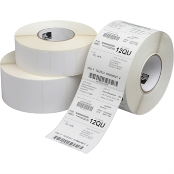 "Picture of 4"" x 6"" White Direct Thermal Label"