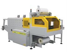 Picture of SmiPack BP802AR Automatic Wrapper with 90 Degree Infeed Conveyor