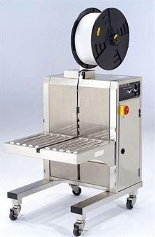 Picture of PAC PSM1412-SS3 Stainless Steel Side Seal Table Top Strapping Machine