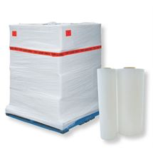 "Picture of 20"" x 80ga x 5000' White Opaque Machine Wrap"