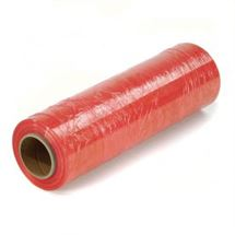 """Picture of 18"""" x 80ga x 1500' on 3"""" Cores RED Stretch Film"""