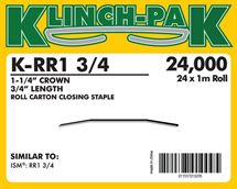 Picture of 3/4, RR1 Roll Staple (1M)