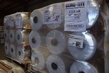 "Picture of 60"" x .00125 x 5600' CLEAR PE Shrink Film"
