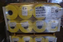 "Picture of 60"" x .00125 x 5600' YELLOW PE Shrink Film"