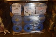 "Picture of 50"" x .00125 x 5600' BLUE PE Shrink Film"