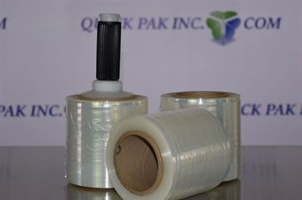 """Picture of 5"""" x 80ga x 1000' Banding Film with Plastic Handle"""
