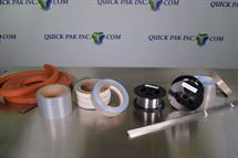 Picture of Nichrome Wire, Seal Pad and Teflon Tapes