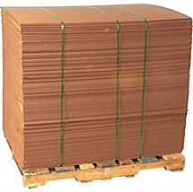 """Picture of 72"""" x 52-1/4"""" x 32 Ect Corrugated Sheet"""