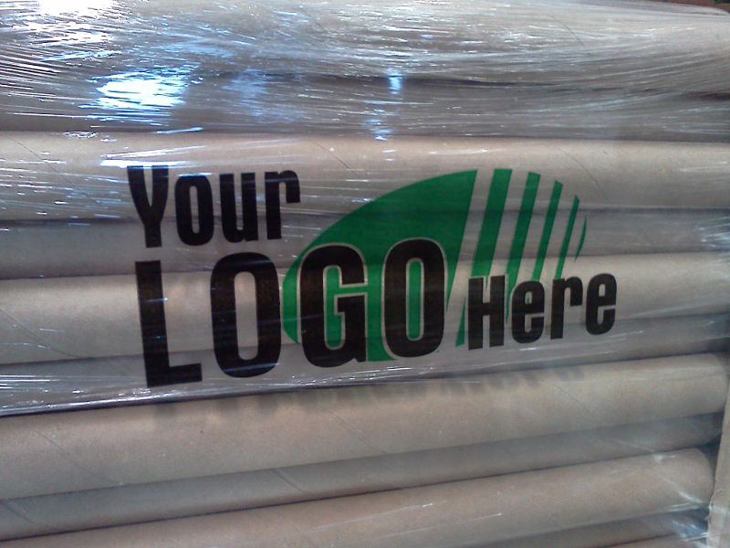 18 X 80ga X 1500 Custom Printed Hand Wrap Quick Pak Inc