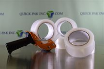 "Picture of 3"" x 1.6mil x 110yd Clear Acrylic Tape"