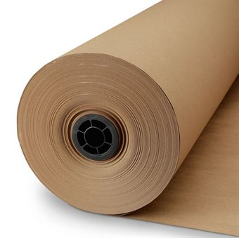 "Picture of 18"" x 30# x 1020' Kraft Paper Roll"