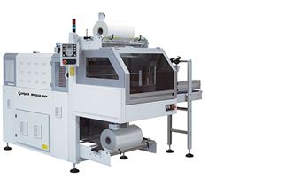Picture of BP800AR 350P Monoblock Automatic Shrink Wrapper with 90° Infeed and Sealing Bar