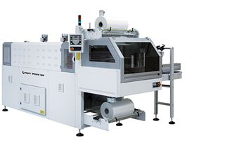 Picture of BP802AR 350P Monoblock Automatic Shrink Wrapper with 90° Infeed and Sealing Bar