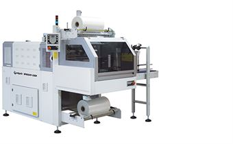 Picture of BP802AR 230R Monoblock Automatic Shrink Wrapper with 90° Infeed and Sealing Bar