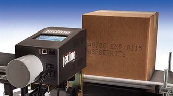 "Picture of Squid Jetline Printer System: 1/2"" x 7 dot, water-based"