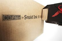 Picture of Squid Ink CoPilot Printing System with two printers, solvent-based