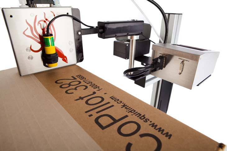 Squid Ink CoPilot 382 Printing System - two standard 382 printheads