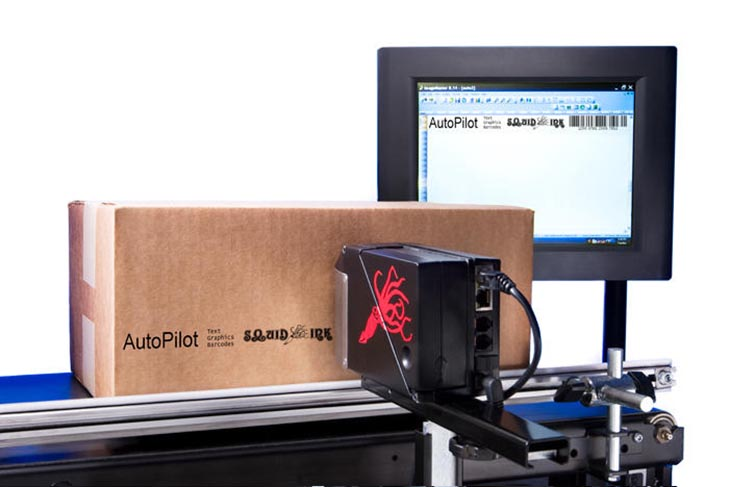 Squid Ink Autopilot Long Nose Printing System With Two