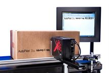 Picture of Squid Ink AutoPilot Long Nose Printing System with two printers, solvent-based Quick Dri printers