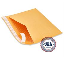 "Picture of 4"" x 8"" Self Seal Bubble Lined Mailer"