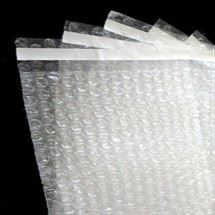"Picture of 6"" x 8-1/2"" + 1"" Lip and Tape Bubble Bag"