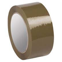 """Picture of 3"""" x 1.6mil x 110yd Tan Acrylic Tape"""
