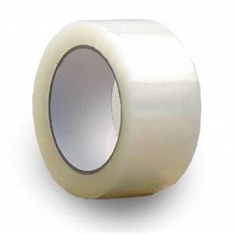 "Picture of 2"" x 2.0mil x 110yd Clear Acrylic Tape"