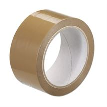 "Picture of 2"" x 1.8mil x 50yd Tan Hotmelt Tape"