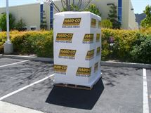 """Picture of 10"""" x 80ga x 1000' Custom Printed Extended Core"""